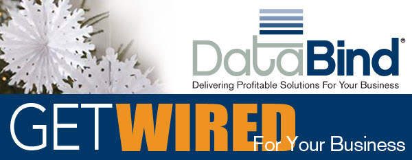 DataBind December 2015 Newsletter - Get Wired For Your Business